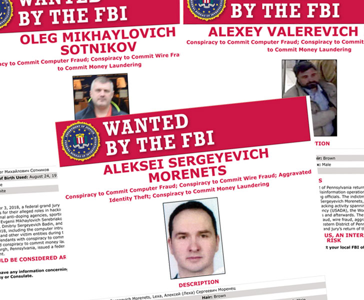 EU sanctions hackers from China , Russia, North Korea wanted by the FBI