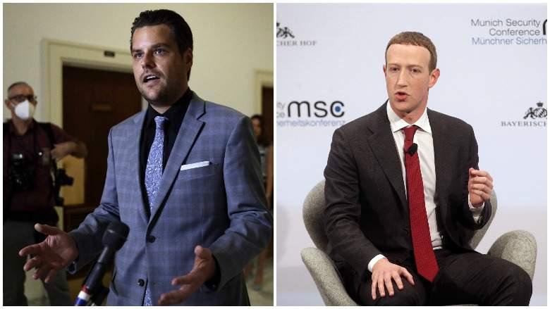 Gaetz Zuckerberg