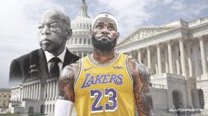 John Lewis Funeral, LeBron James, Los Angeles Lakers