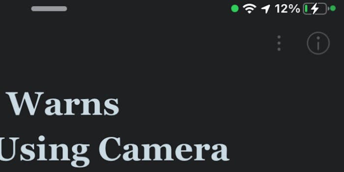 IOS 14 Beta Warns Instagram Use Camera without User Knowledge