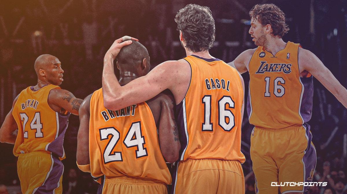 Kobe Bryant, Pau Gasol, NBA, Lakers