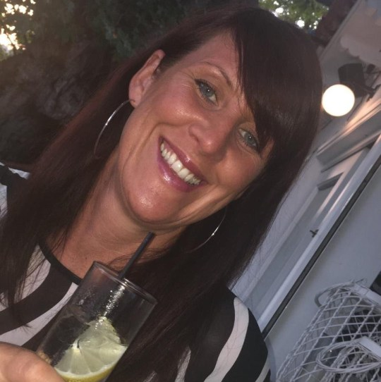 Lindsay Birbeck, 47, whose body was discovered by a dog walker in Accrington Cemetery, Lancashire, on August 24 last year.