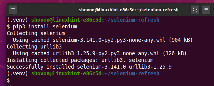 How to Refresh Selenium Page – Linux Hint