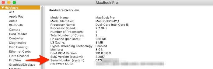 Six Ways to Check Your Mac Serial Number