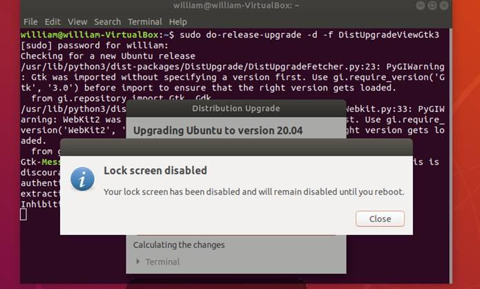 How to upgrade to Ubuntu 18.04 LTS to Ubuntu 20.04 LTS