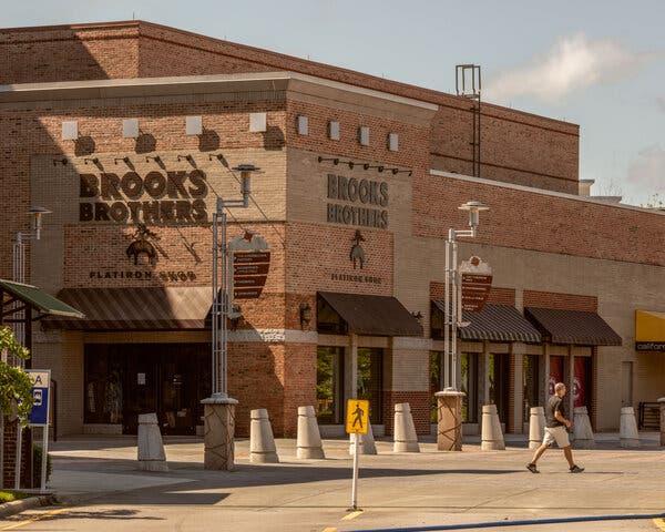 A Brooks Brothers Flatiron Shop in Durham, North Carolina.