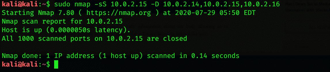 Kali Linux Network Recognition – Linux Hint