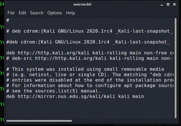Install and use the editor in Kali Linux 2020 – Linux Hint.
