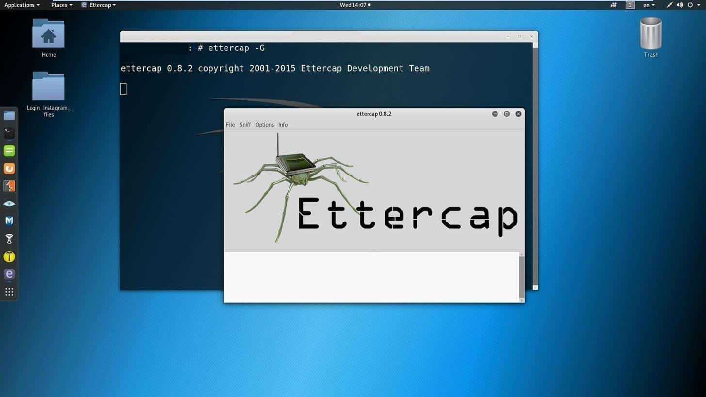 Linux Hint-Man in the middle attacks