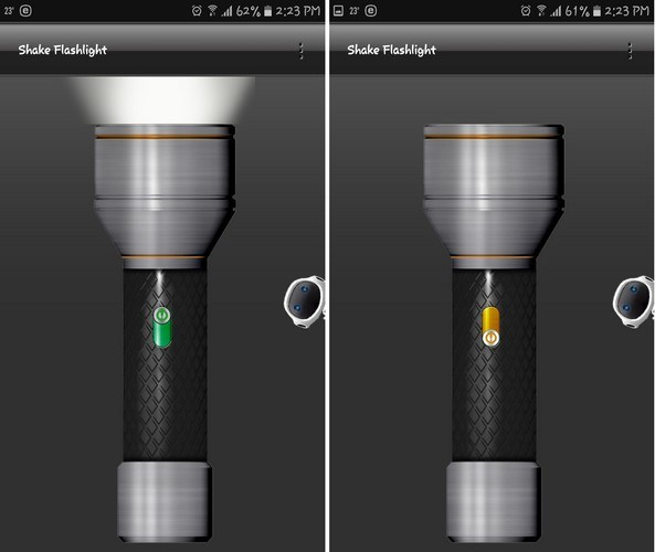 How to Turn Flashlight On and Off Android Quickly