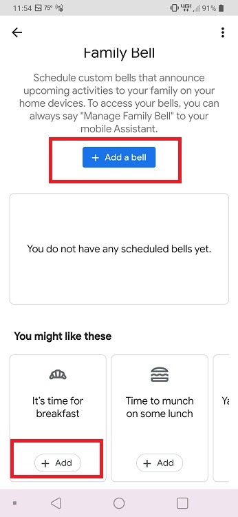 How to Use Google Assistant Family Bell Feature