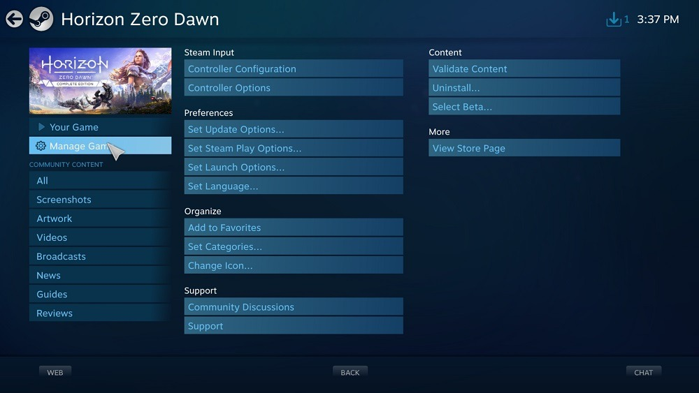 How to use Steam Games externe game controllers
