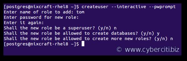 How to install and setup PostgreSQL on RHEL 8