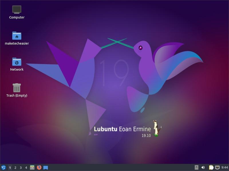 An attractive, lightweight desktop environment