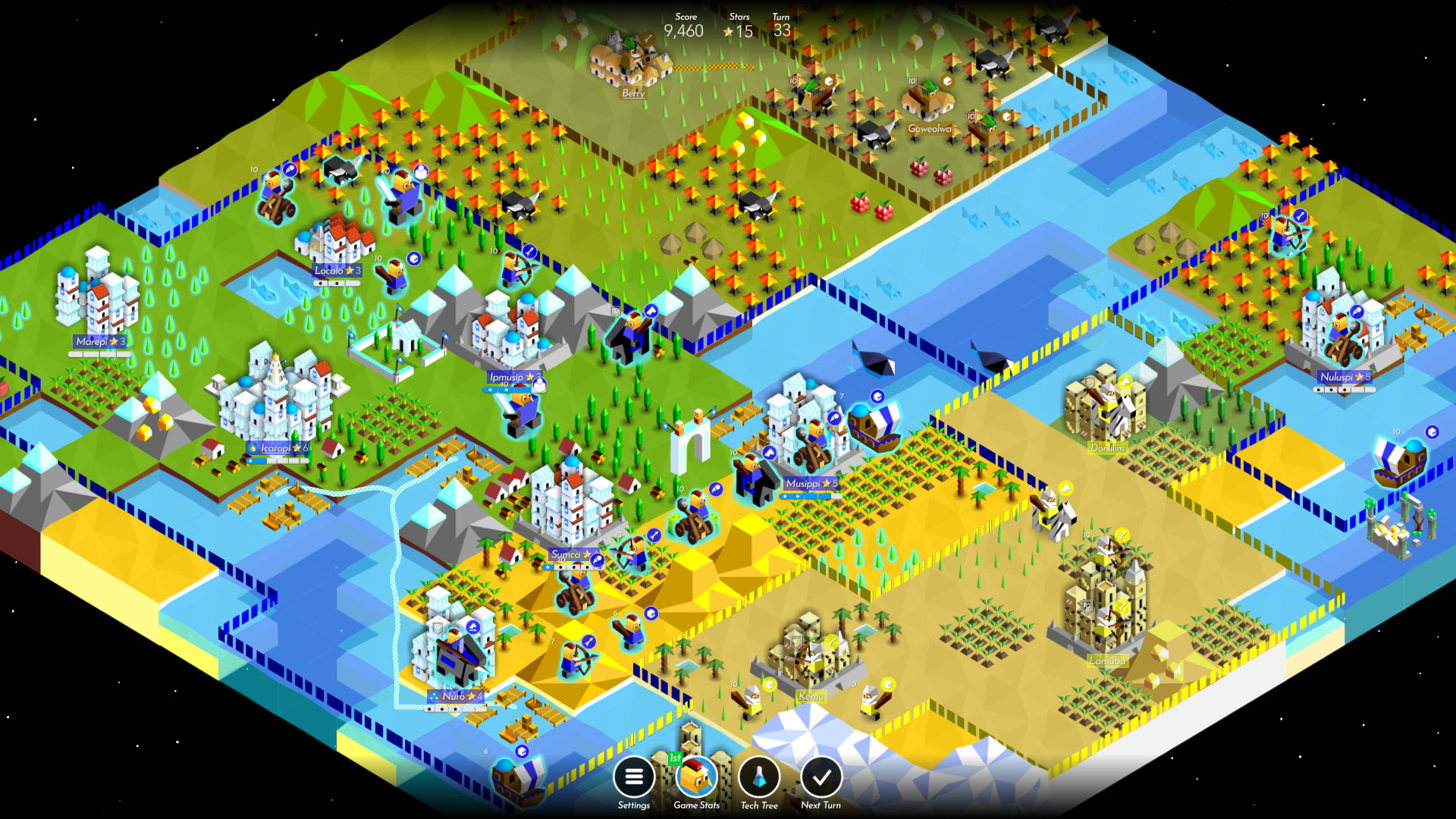 Award winning strategy game The Battle of Polytopia is now available on the Linux PC.