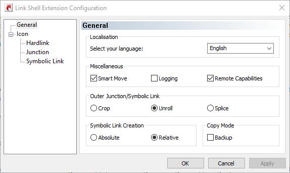 Create Symlink Windows 10 Lseconfig