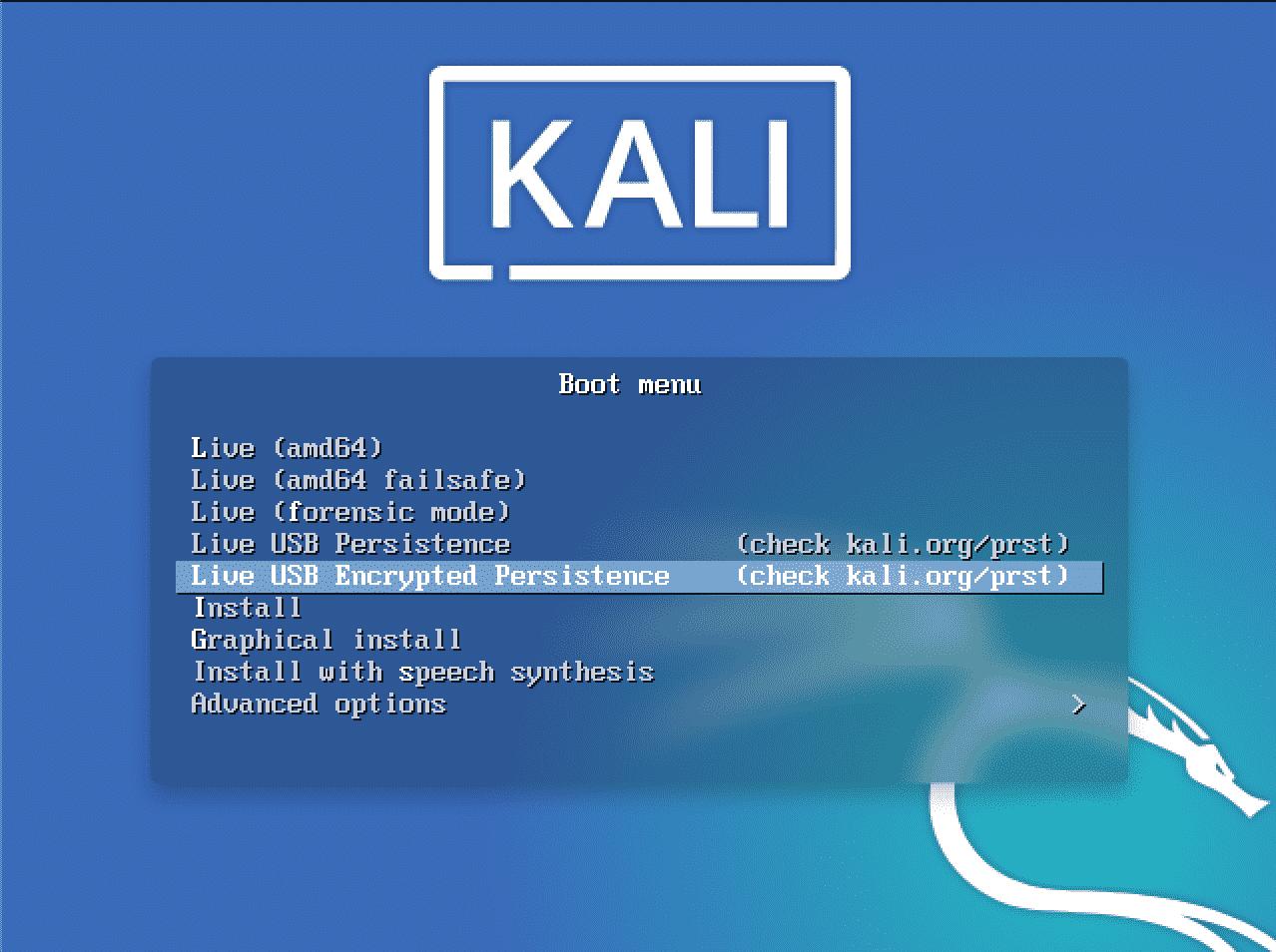 Kali Linux USB Persistence – Linux Tip