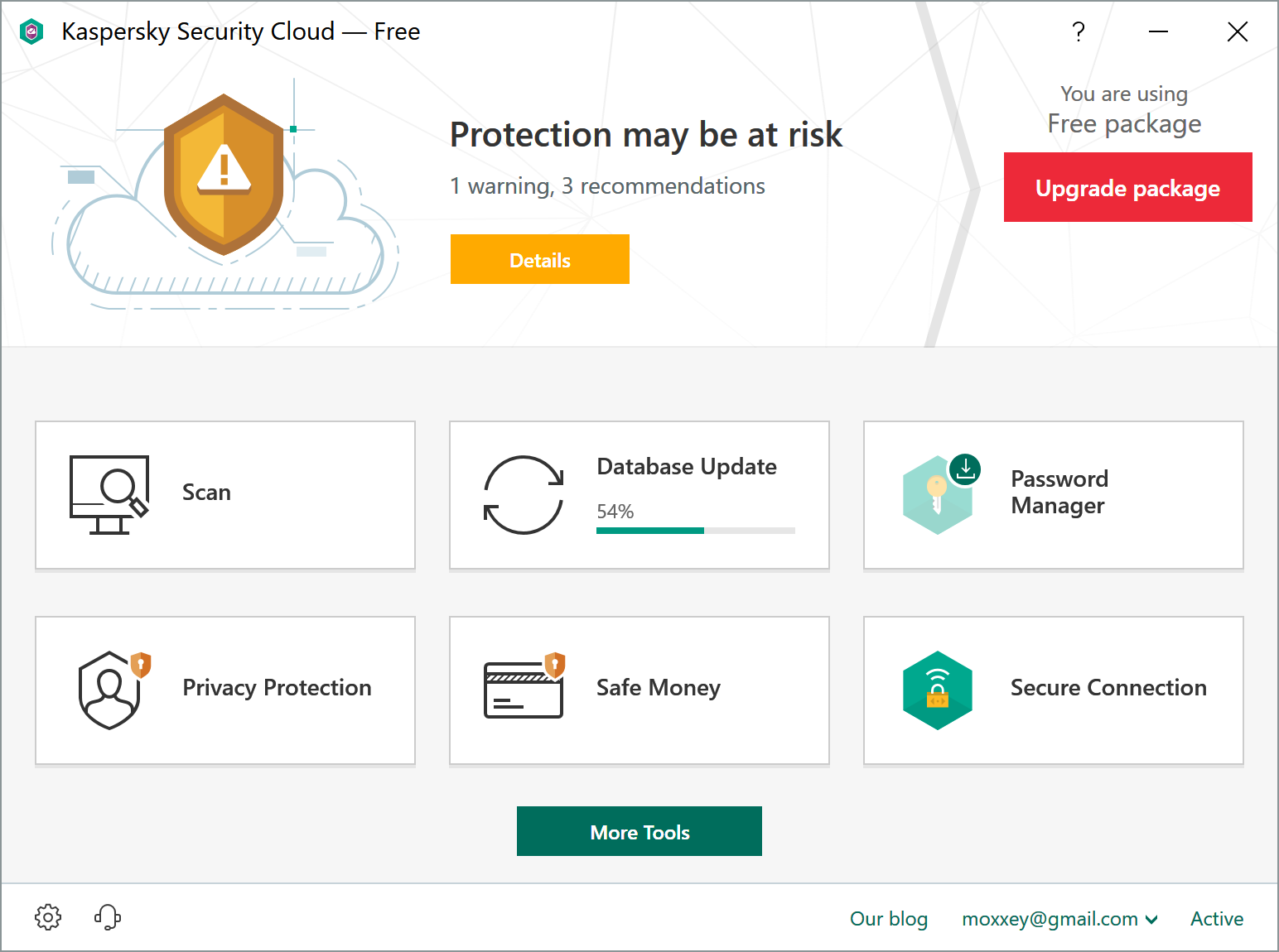 Kaspersky 2021 enhances the protection of VPN and stalkerware, updates the free Security Cloud solution.