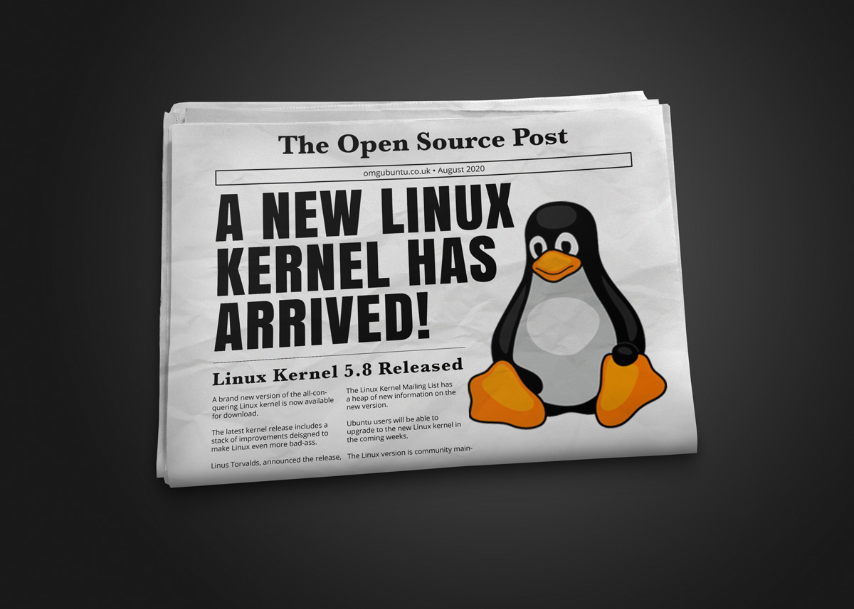 Linux 5.8 Released, this is the new thing