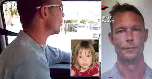 Christian Brueckner was filmed by hitchhikers weeks before Madeleine McCann went missing