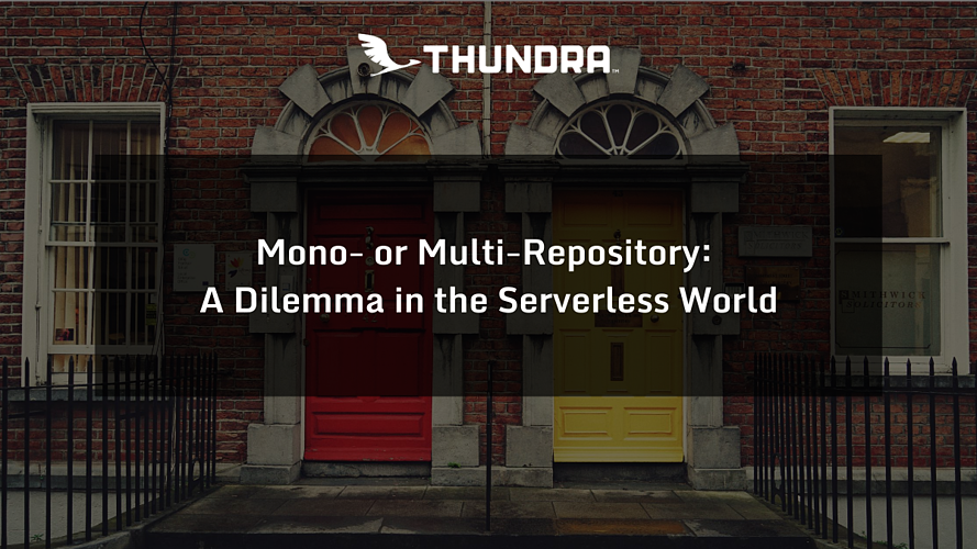 Mono-or Multi-Repository: the dilemma of the serverless world