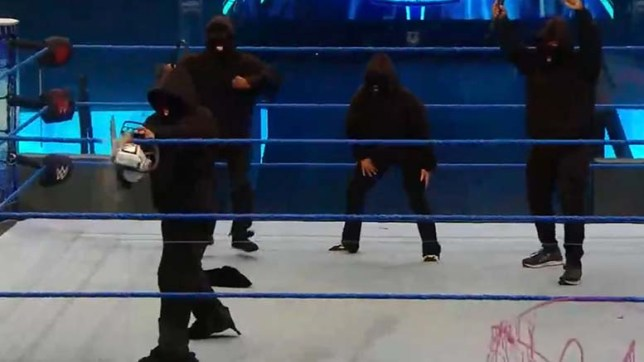 New WWE faction Retribution on SmackDown