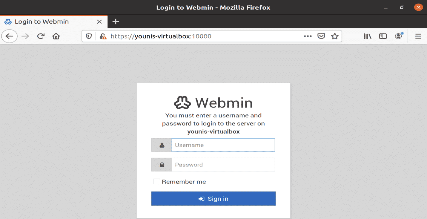 How to Install and Manage Ubuntu Webmin 20.04 – Linux Hint