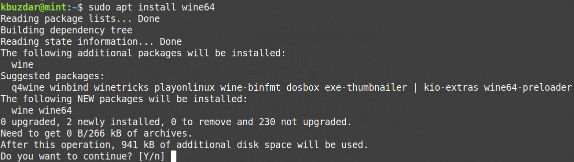 Install WINE on Linux Mint 20-Hint for Linux