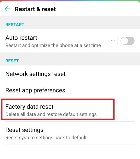 What To Do When Windows Wont Recognize Your Android Device Factory Reset