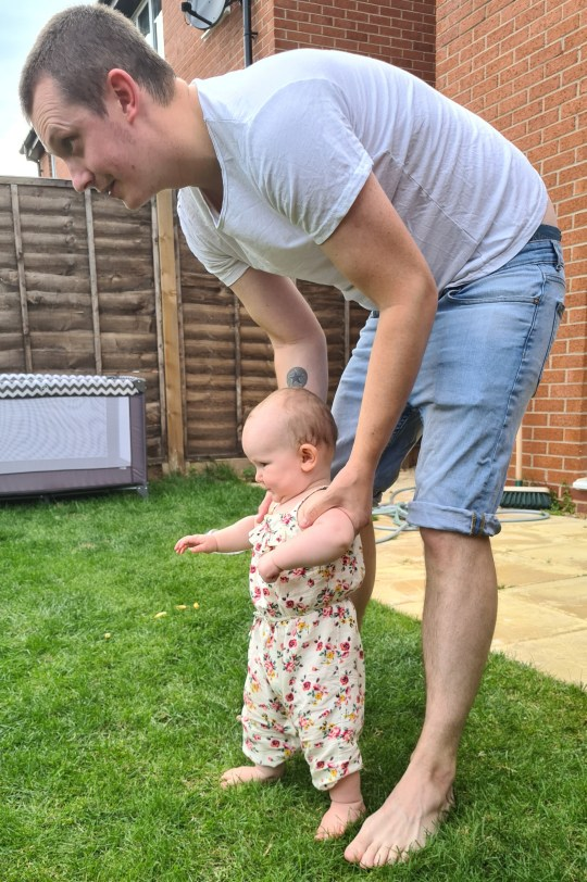 dad opens up about postnatal depression (Picture: Tom Shirley)