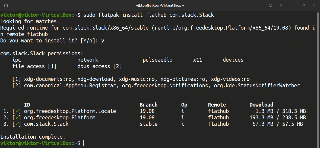 On Ubuntu 20.04, install and use Slack — Linux Hint