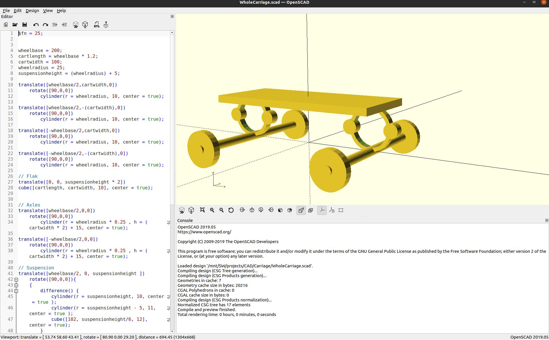 openSCAD tutorial – Linux Hint