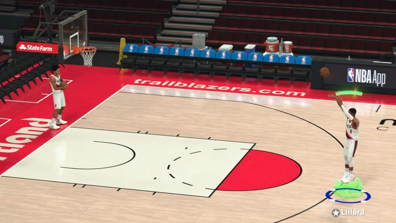 NBA 2K21 Shooting