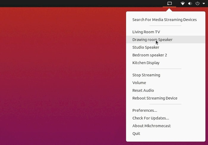 How to Stream Audio to Chromecast and Google Home from Linux
