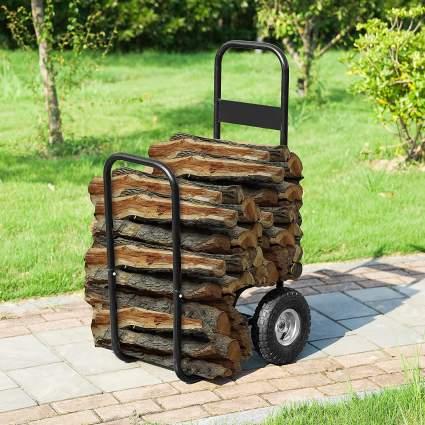 1900 Earth Worth Firewood Log Cart