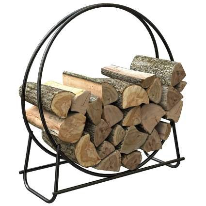 Panacea 40-Inch Tubular Steel Log Hoop