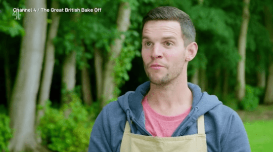 Dave on Great British Bake Off 2020
