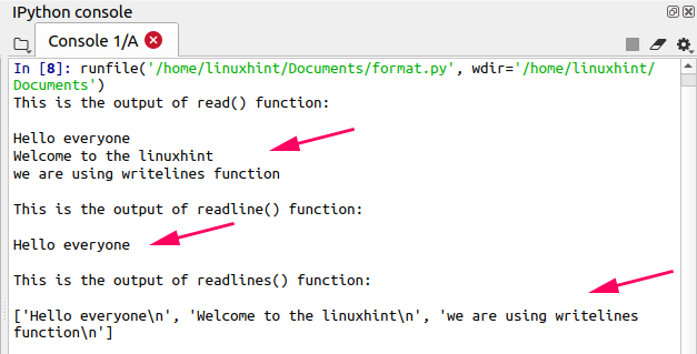 Python Reading and Writing Files- Linux Hint