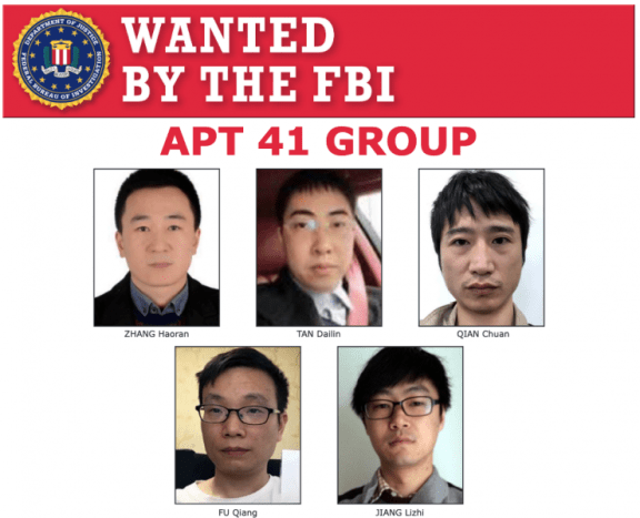 Apt41 actors have been charged with attacks on more than 100 victims worldwide.