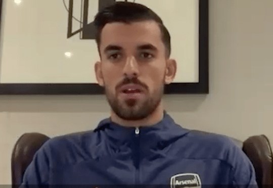 Dani Ceballos speaks to Arsenal's official website after extending his stay