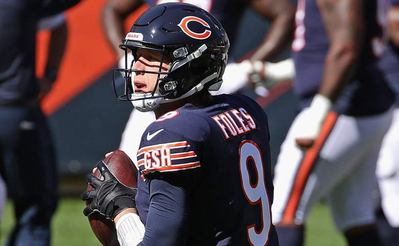 Bears Foles Trubisky benched