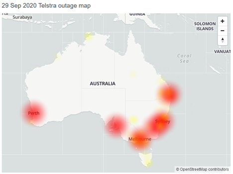Error of Inadvertent Routing causing major outage