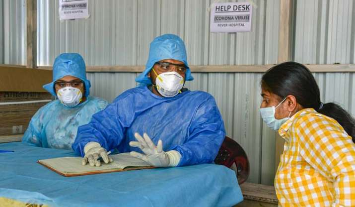 India records 78,356 new COVID-19 cases, 1,045 deaths in a