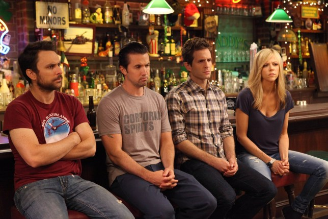 Four of the It's Always Sunny In Philadelphia characters