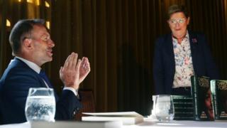 Tony Abbott and Christine Forster
