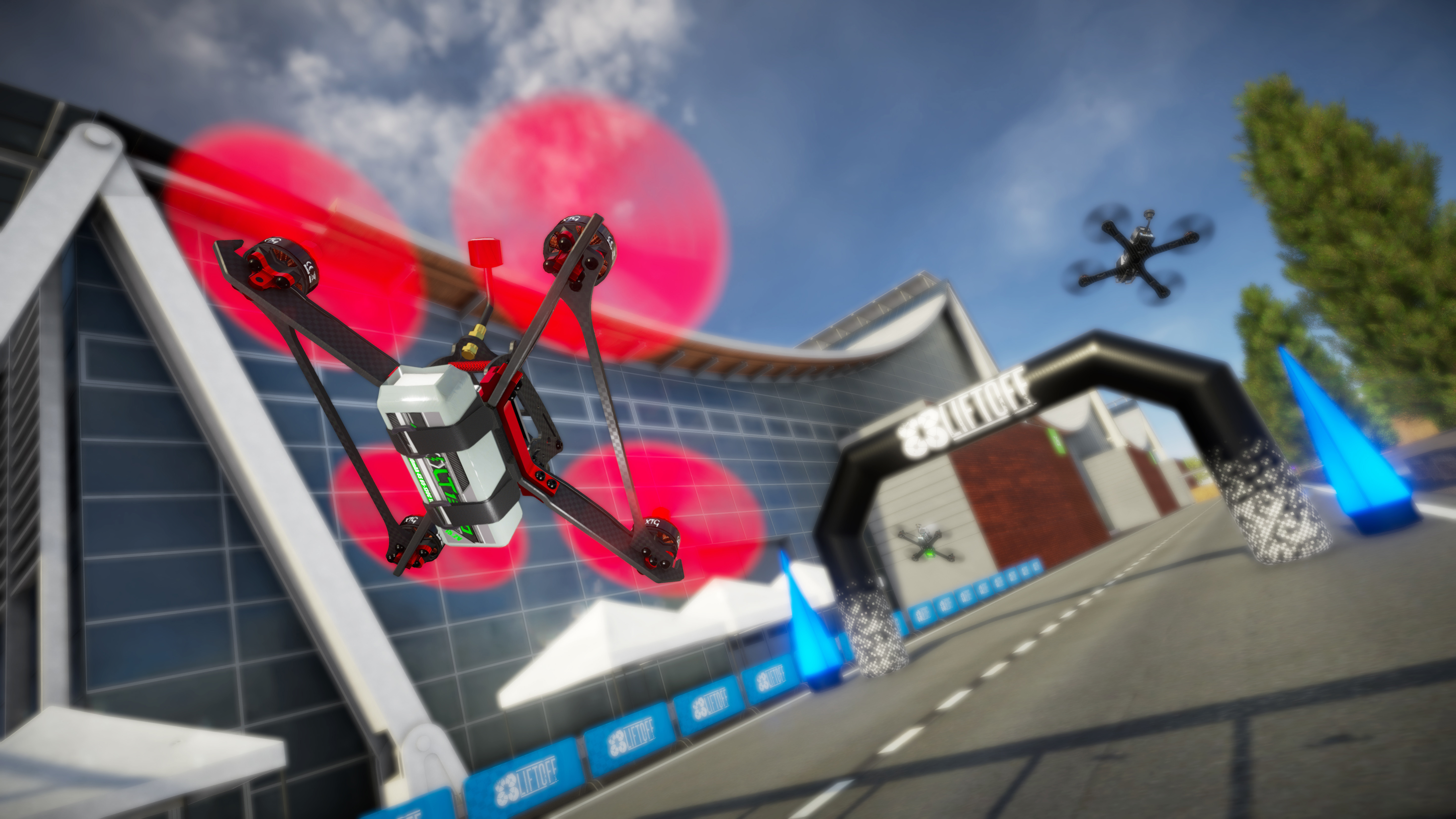 Liftoff: With the new Unity game engine and Vulkan, FPV Drone Racing is getting a major upgrade.