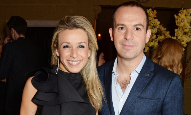 Martin Lewis and Lara Lewington at Debrett's 500 Event.