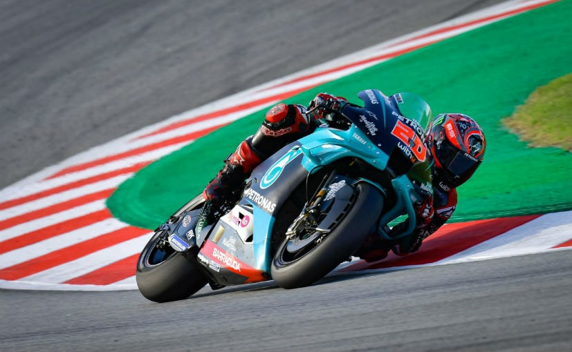 Quartararo is back after a couple of near-misses in the previous rounds to lead the championship