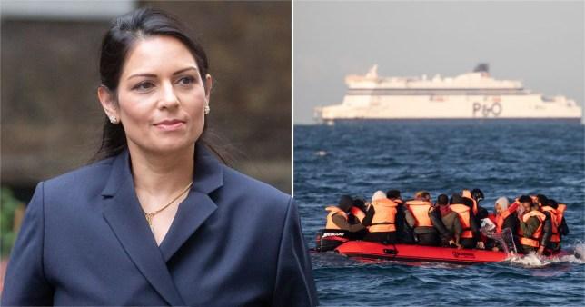 Priti Patel wanted to place asylum seekers in south atlantic