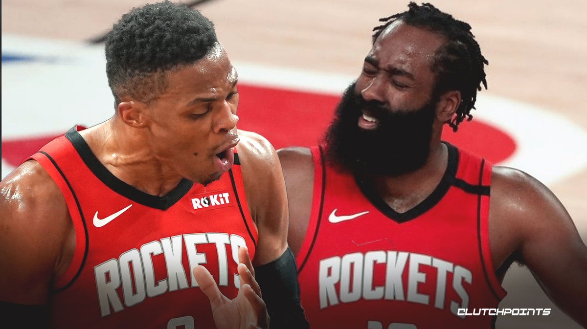 Russell Westbrook, James Harden, Rockets, Lakers